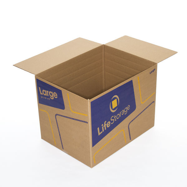 Large Moving Boxes Sold at Life Storage