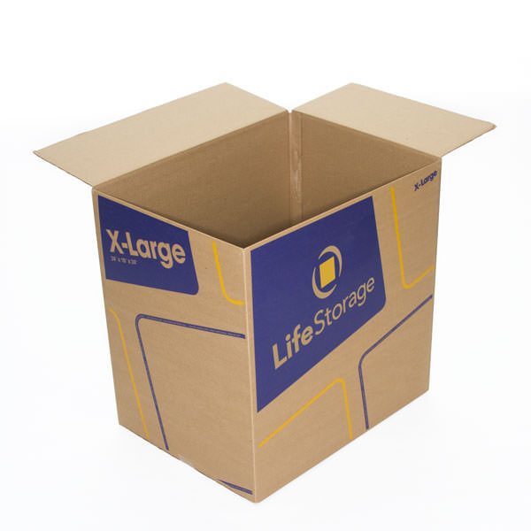 Extra Large Moving Boxes Sold at Life Storage