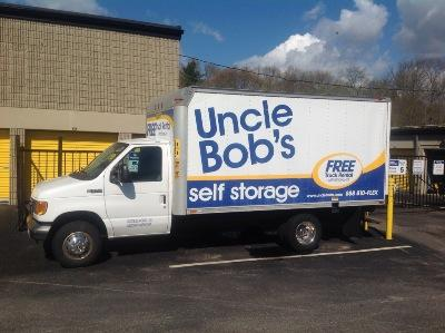 Truck rental available at Life Storage at 81 Main St in Weymouth