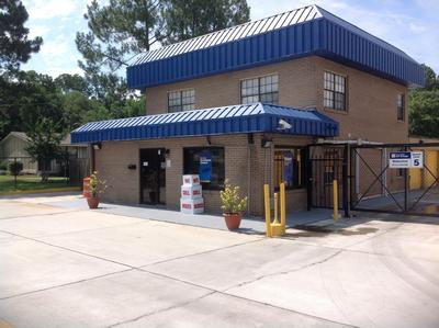 Storage buildings at Life Storage at 10901 Abercorn St in Savannah