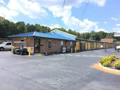 Life Storage Buildings at 2655 Langford Road in Norcross