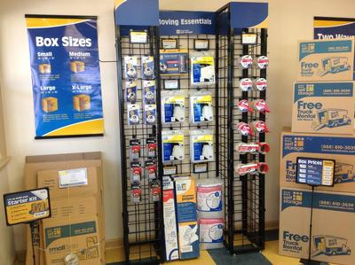Moving Supplies for Sale at Life Storage at 2401 S Wilmington St in Raleigh