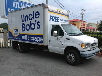Truck rental available at Life Storage at 918 Blanding Blvd in Orange Park