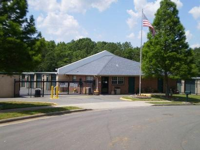 Life Storage Buildings at 1400 Orchard Lake Dr in Charlotte