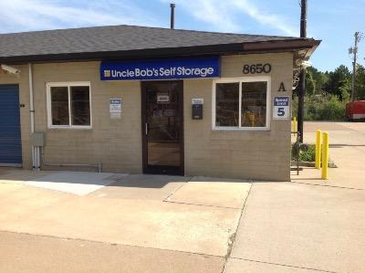 Storage buildings at Life Storage at 8650 East Avenue in Mentor