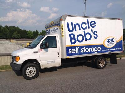 Truck rental available at Life Storage at 118 Stage Coach Trail in Greensboro