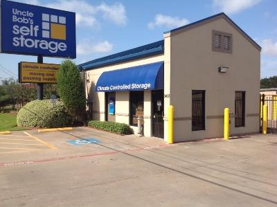 Life Storage Buildings at 3433 North Fry Road in Katy