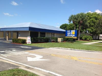 Life Storage Buildings at 1500 West Sample Road in Pompano Beach