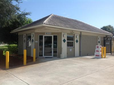 Storage buildings at Life Storage at 1655 10th Avenue in Vero Beach