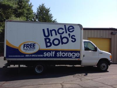 Truck rental available at Life Storage at 5 James P Murphy Ind Hwy in West Warwick