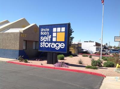 Life Storage Buildings at 837 E Broadway Rd in Mesa