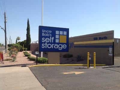 Life Storage Buildings at 139 N Greenfield Rd in Mesa
