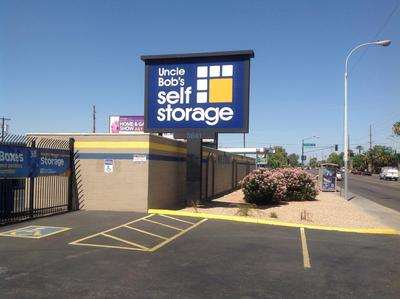 Life Storage Buildings at 3641 W Camelback Rd in Phoenix