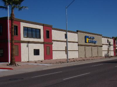 Life Storage Buildings at 1928 East Bell Road in Phoenix