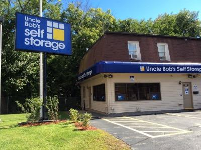 Life Storage Buildings at 73 Pleasant Street in Dracut
