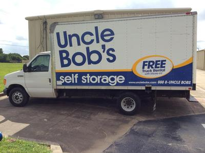 Truck rental available at Life Storage at 2280 E Main St in League City