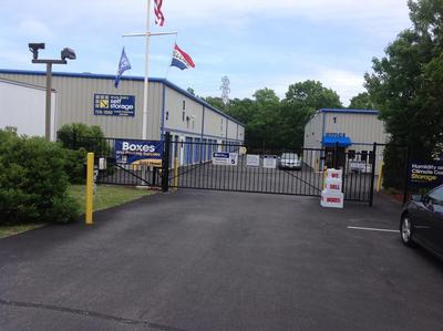 Life Storage Buildings at 173 W Montauk Hwy in Hampton Bays