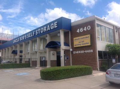 Life Storage Buildings at 4640 Harry Hines Blvd in Dallas