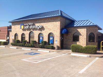 Life Storage Buildings at 9145 Jones Rd in Houston