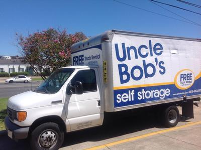 Truck rental available at Life Storage at 4756 Florida Blvd. in Baton Rouge