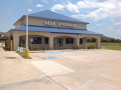 Life Storage Buildings at 7400 Barker Cypress Road in Cypress