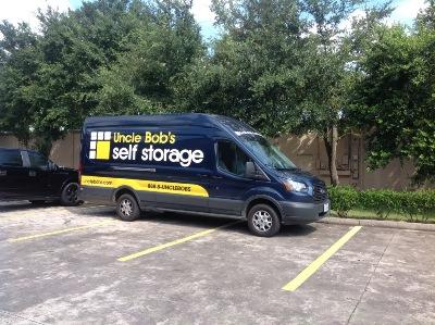 Truck rental available at Life Storage at 250 S Dowlen Rd in Beaumont
