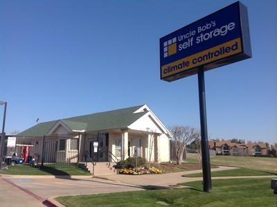 Life Storage Buildings at 2905 Crystal Springs in Bedford