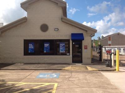 Storage buildings at Life Storage at 12711 Westheimer Road in Houston