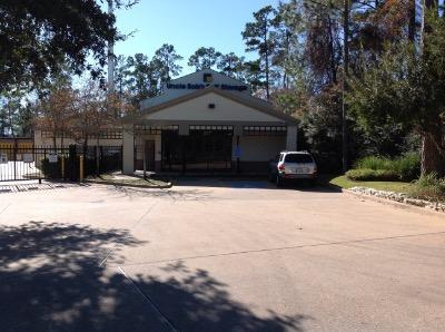 Life Storage Buildings at 7951 Alden Bend Dr in The Woodlands
