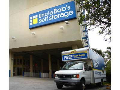 Truck rental available at Life Storage at 6820 SW 81st Terrace in Miami