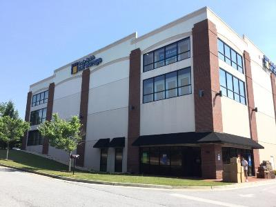 Life Storage Buildings at 875 Marathon Parkway in Lawrenceville