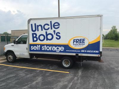 Truck rental available at Life Storage at 11525 184th Place in Orland Park