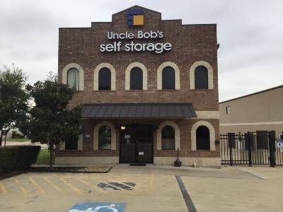 Storage buildings at Life Storage at 2101 Double Creek Dr in Round Rock