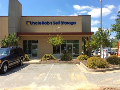 Storage buildings at Life Storage at 1000 Cooper Circle in Peachtree City