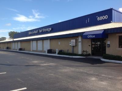 Life Storage Buildings at 6800 N. Military Trail in West Palm Beach