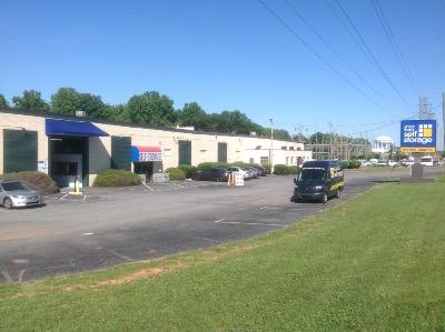 Life Storage Buildings at 5800 A Brookshire Blvd in Charlotte