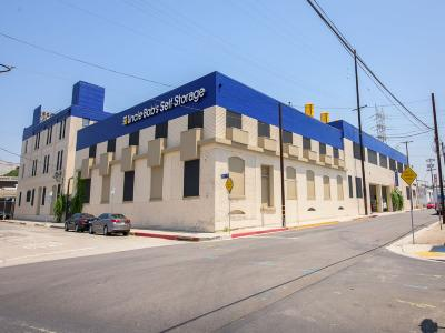 Life Storage Buildings at 801 E Commercial St in Los Angeles