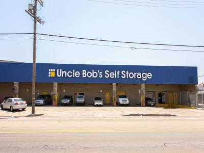 Life Storage Buildings at 700 E Slauson Ave in Los Angeles