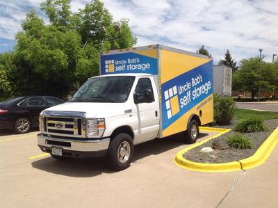 Truck rental available at Life Storage at 11951 E Mississippi Ave in Aurora