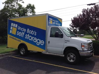 Truck rental available at Life Storage at 165 Brick Blvd in Brick