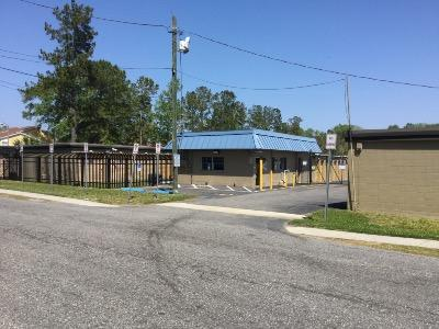 Storage buildings at Life Storage at 1515 Manotak Avenue in Jacksonville