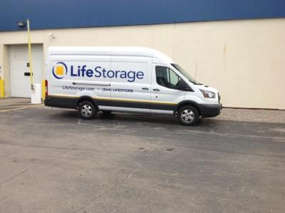 Truck rental available at Life Storage at 1180 University Avenue in Rochester