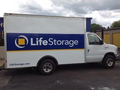 Truck rental available at Life Storage at 446 Boardman Canfield Rd in Youngstown