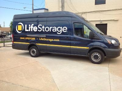 Truck rental available at Life Storage at 1455 Broadway Ave in Bedford