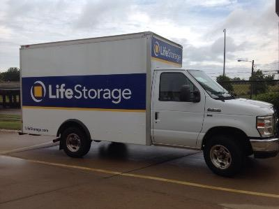 Truck rental available at Life Storage at 19200 Neff Road in Cleveland
