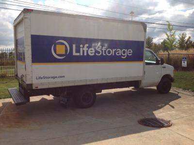 Truck rental available at Life Storage at 24560 Sperry Dr in Westlake
