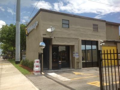 Storage buildings at Life Storage at 1099 S Congress Ave in Delray Beach