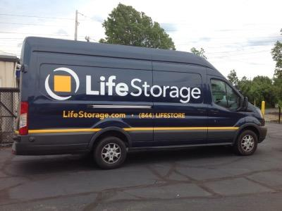 Truck rental available at Life Storage at 38390 Chester Road in Avon