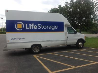 Truck rental available at Life Storage at 1270 Jefferson Road in Rochester