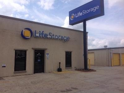 Storage buildings at Life Storage at 11670 Airline Hwy in Baton Rouge